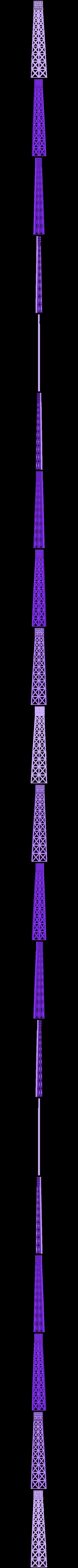 Eiffel_twr_K.stl Download free STL file Eiffel Tower HD • 3D print model, Ogubal3D