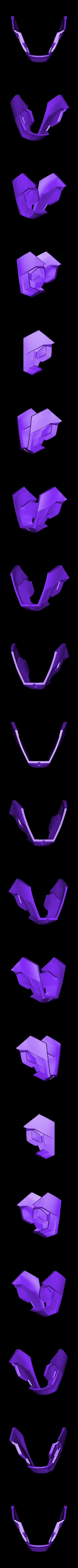 chin.stl Download free STL file IRON MAN Mark 42 • 3D print design, kimjh