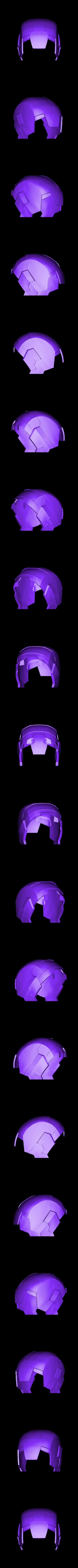 helmet.stl Download free STL file IRON MAN Mark 42 • 3D print design, kimjh