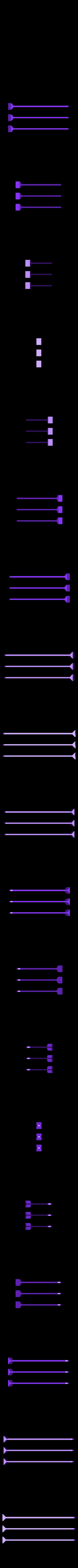 3_sticks_8x120mm.stl Télécharger fichier STL gratuit Planche courbe multifonctionnelle • Design imprimable en 3D, Minweth