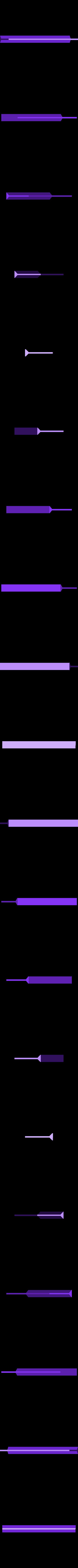 divider_45x120_diamond.stl Télécharger fichier STL gratuit Planche courbe multifonctionnelle • Design imprimable en 3D, Minweth