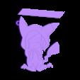 DIBUJO_NEREA_V1.stl Télécharger fichier STL gratuit Llavero 2D Nerea • Design imprimable en 3D, 3dlito