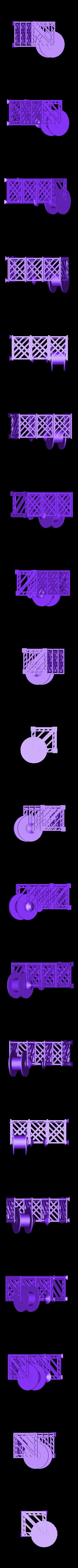 assembly_standing-just_for_watching.stl Télécharger fichier STL gratuit Porte-bobine à filament modulaire • Plan à imprimer en 3D, Qelorliss