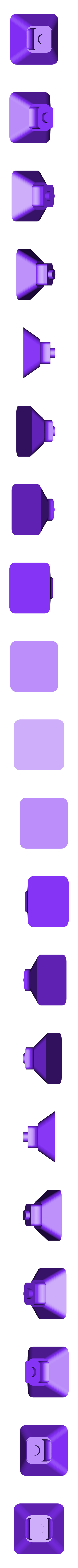 foot_2.stl Télécharger fichier STL gratuit Porte-bobine à filament modulaire • Plan à imprimer en 3D, Qelorliss