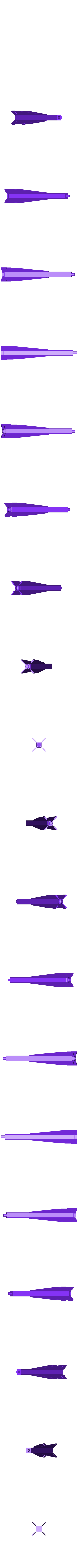 shaft_thing_2_with_self_generated_supports_-_please_remove_it.stl Télécharger fichier STL gratuit Porte-bobine à filament modulaire • Plan à imprimer en 3D, Qelorliss