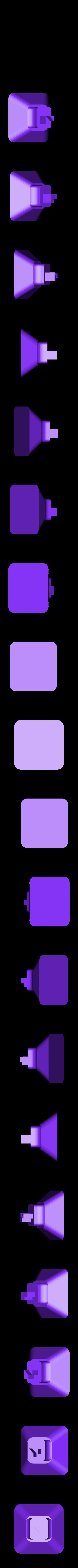 foot_3.stl Télécharger fichier STL gratuit Porte-bobine à filament modulaire • Plan à imprimer en 3D, Qelorliss
