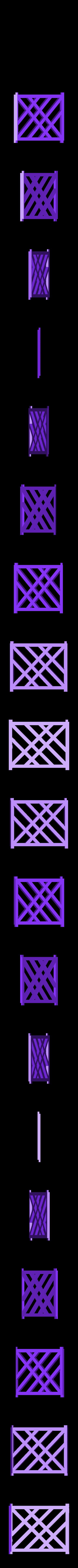 wall.stl Télécharger fichier STL gratuit Porte-bobine à filament modulaire • Plan à imprimer en 3D, Qelorliss
