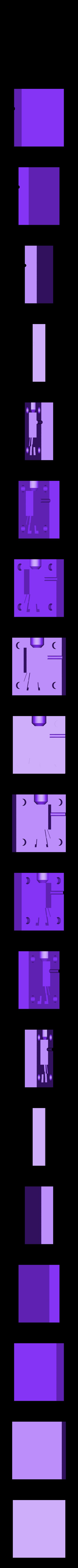 plrmoldbottom.stl Download free STL file MineCraft Player Hotglue injection mold • 3D printing object, Qelorliss