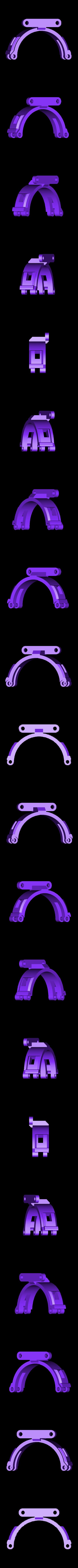 "Ozo_Grabber_Arm.stl Download free STL file Ozobot ""Hardwear"" Helmet Upgrade Accessory Kit • Template to 3D print, Qelorliss"