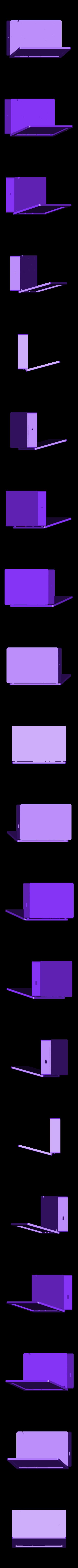 PiBookFull.stl Télécharger fichier STL gratuit PiBook alimenté sans fil • Plan imprimable en 3D, Qelorliss