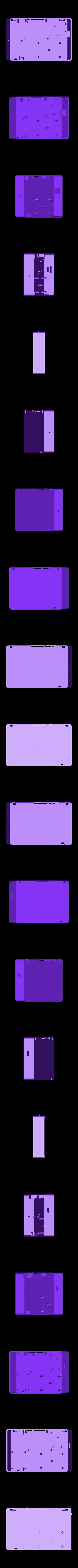 PiBookBody.stl Télécharger fichier STL gratuit PiBook alimenté sans fil • Plan imprimable en 3D, Qelorliss