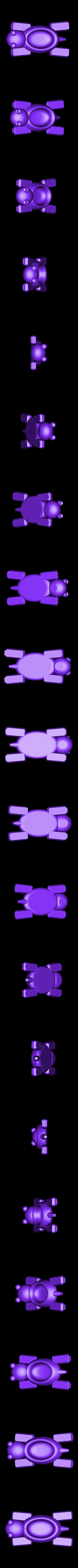 turtlefinal.stl Télécharger fichier STL gratuit Bateau tortue • Design pour imprimante 3D, Kajdalon