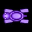 turtle_05_.stl Télécharger fichier STL gratuit Bateau tortue • Design pour imprimante 3D, Kajdalon