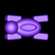 turtle_hallow_legs_02.stl Télécharger fichier STL gratuit Bateau tortue • Design pour imprimante 3D, Kajdalon