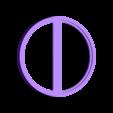 face_ring.stl Télécharger fichier STL gratuit Symbole magnétique de Deadpool • Modèle à imprimer en 3D, Kajdalon