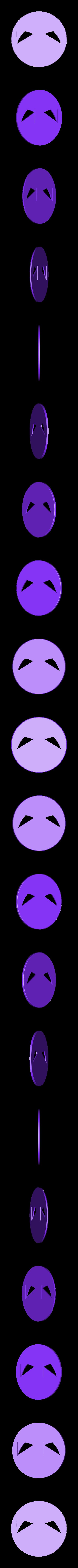 inner_ring.stl Télécharger fichier STL gratuit Symbole magnétique de Deadpool • Modèle à imprimer en 3D, Kajdalon