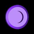 back_conn.stl Télécharger fichier STL gratuit Symbole magnétique de Deadpool • Modèle à imprimer en 3D, Kajdalon