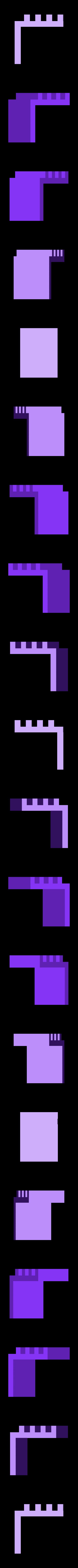spool_back_hook.stl Télécharger fichier STL gratuit Support de bobine de filament ajustable / extensible - Ajouts à Flashforge Creator Pro • Modèle à imprimer en 3D, Kajdalon