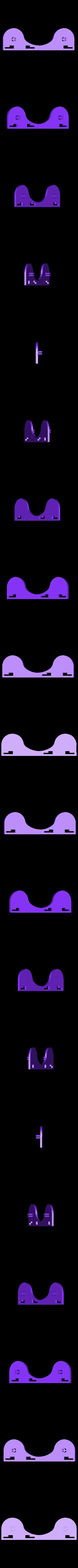 PanelLeft.stl Télécharger fichier STL gratuit Support de bobine de filament ajustable / extensible - Ajouts à Flashforge Creator Pro • Modèle à imprimer en 3D, Kajdalon