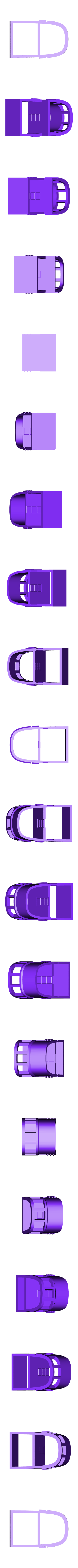 Tug_wheelhouse.stl Download free STL file Barge with Tugboat • 3D print object, Kajdalon