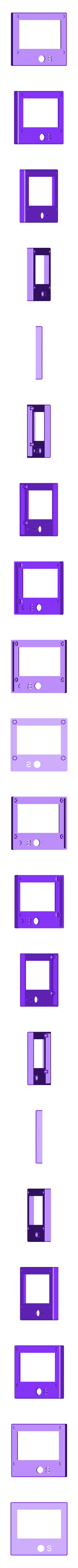 LCD_Holder_2_-_cover_up.stl Télécharger fichier STL gratuit Contrôleur LCD graphique intelligent - Prusa i3 Hephestos - Support • Objet imprimable en 3D, Rusichar