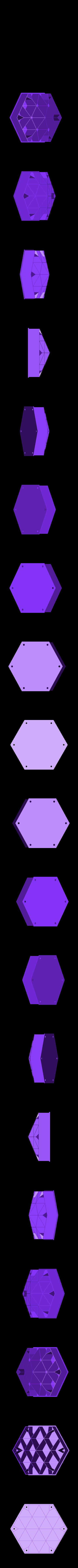 FloatP3_-_Honeychamberrose.stl Télécharger fichier STL gratuit Nid d'abeille et de canneberge • Modèle pour impression 3D, Rusichar
