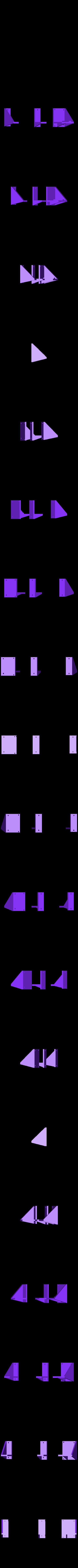RUMBA_halterung.stl Télécharger fichier STL gratuit Etui à Rumba pour Prusa i3 Hephestos • Modèle pour imprimante 3D, Rusichar