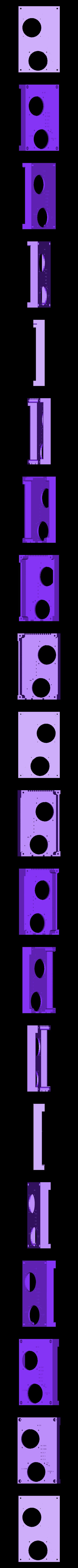 RUMBA_halterung_deckel_mit_lueftung.stl Télécharger fichier STL gratuit Etui à Rumba pour Prusa i3 Hephestos • Modèle pour imprimante 3D, Rusichar