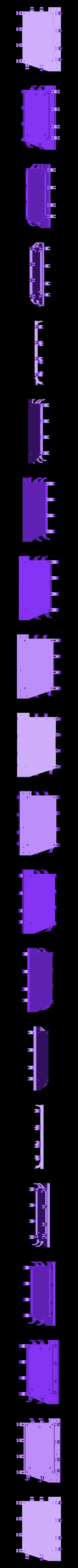 RUMBA_halterung_boden.stl Télécharger fichier STL gratuit Etui à Rumba pour Prusa i3 Hephestos • Modèle pour imprimante 3D, Rusichar
