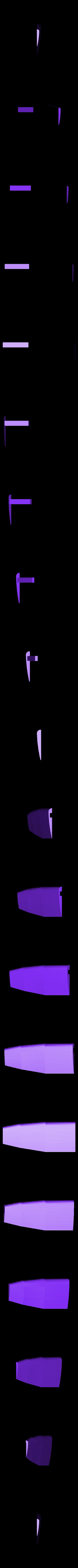 rudder_left.stl Télécharger fichier STL gratuit Voilier à voile • Objet pour impression 3D, Rusichar