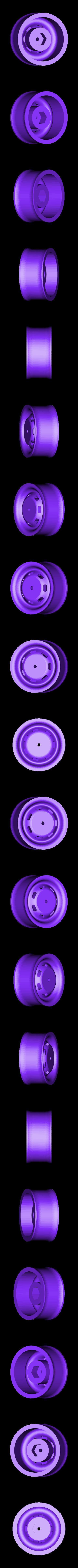 Wheels.STL Télécharger fichier STL gratuit VW Kleinbus T2 • Modèle pour impression 3D, Rusichar