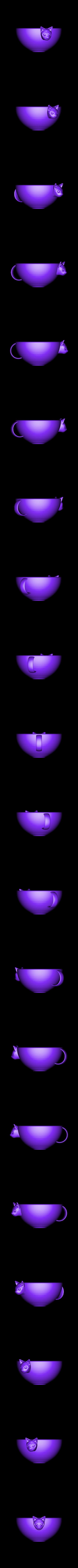 003.obj Télécharger fichier OBJ gratuit KittyKup • Design pour imprimante 3D, DataDink