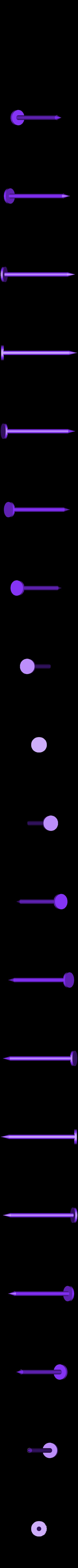 Caulk_Tube_Nail_Plug_-_Vert.stl Télécharger fichier STL gratuit Bouchon à clou pour tube de calfeutrage • Design imprimable en 3D, Mr_Tantrum