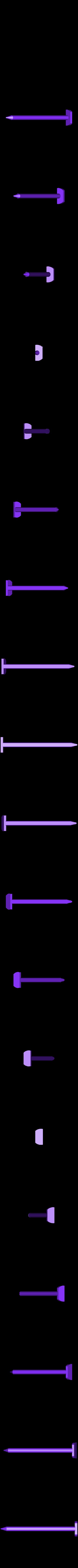 Caulk_Tube_Nail_Plug_-_Horz.stl Télécharger fichier STL gratuit Bouchon à clou pour tube de calfeutrage • Design imprimable en 3D, Mr_Tantrum