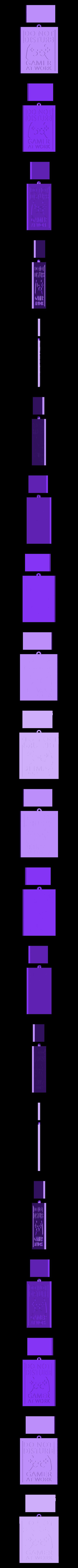 GAME_KEYCHAIN.STL Télécharger fichier STL gratuit PORTE-CLÉS JOUEUR • Objet à imprimer en 3D, 3dlito