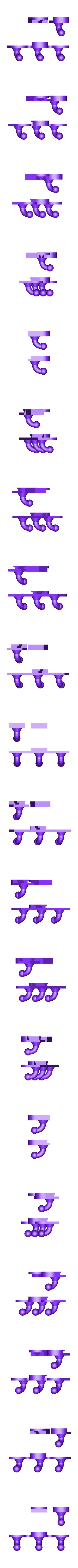 modular wall hanger (3).stl Download free STL file Modular wall hanger • Design to 3D print, jankitokarczew