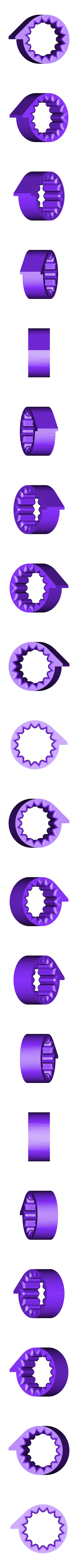 Cam_bolt_16b_1beat.STL Télécharger fichier STL gratuit Mon 3D (Dream Drum Design) • Objet pour imprimante 3D, Tanleste46