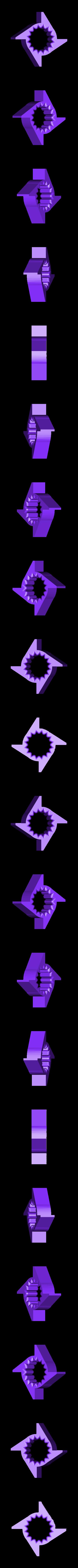 Cam_bolt_16b_4beats.STL Télécharger fichier STL gratuit Mon 3D (Dream Drum Design) • Objet pour imprimante 3D, Tanleste46