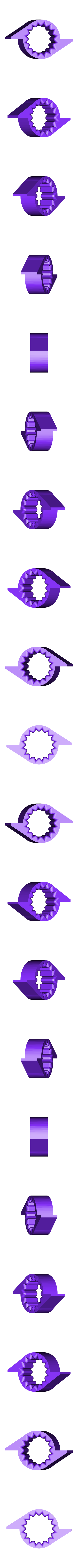 Cam_bolt_16b_2beats.STL Télécharger fichier STL gratuit Mon 3D (Dream Drum Design) • Objet pour imprimante 3D, Tanleste46