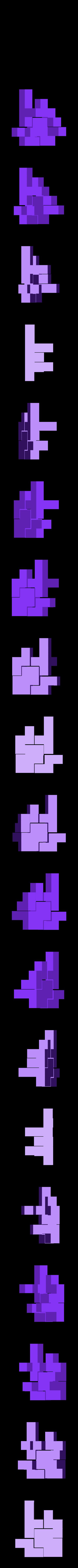 mini_puzzlecube_color1_pieces.stl Télécharger fichier STL gratuit Mini Puzzle Cube Impossible • Objet pour imprimante 3D, Balkhagal4D