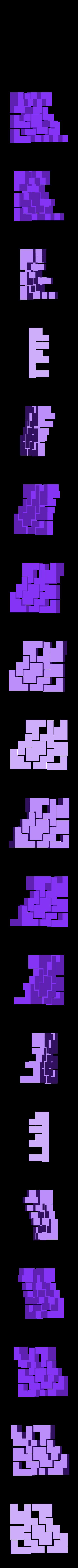 mini_puzzlecube_all_pieces_ready_for_printing.stl Télécharger fichier STL gratuit Mini Puzzle Cube Impossible • Objet pour imprimante 3D, Balkhagal4D