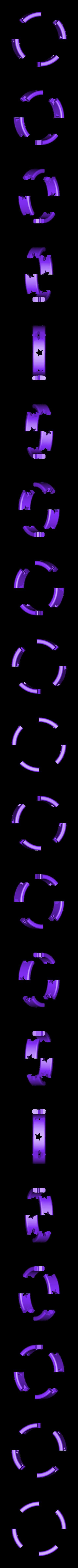 Ring1.STL Télécharger fichier STL gratuit Bracelet étoile - Diamond Hotend • Design imprimable en 3D, Balkhagal4D