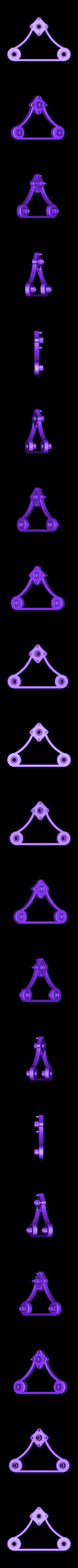 SpinnerArm_TaulmanSpool.STL Télécharger fichier STL gratuit Porte-bobine Taulman • Plan pour impression 3D, Balkhagal4D