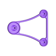 OverSized_BigTop_BaseArm.STL Download free STL file OVERSIZED - Universal Spool Holder • 3D printer object, Balkhagal4D
