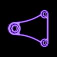 OverSized_BigTop_SpinnerArm.STL Download free STL file OVERSIZED - Universal Spool Holder • 3D printer object, Balkhagal4D