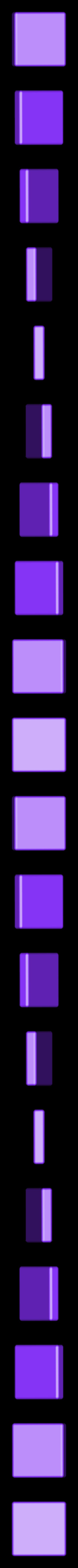 BlankPiece.STL Télécharger fichier STL gratuit Pièces et support SCRABBBLE • Design pour imprimante 3D, Balkhagal4D