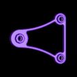 OverSized_SmallTop_SpinnerArm.STL Download free STL file OVERSIZED - Universal Spool Holder • 3D printer object, Balkhagal4D