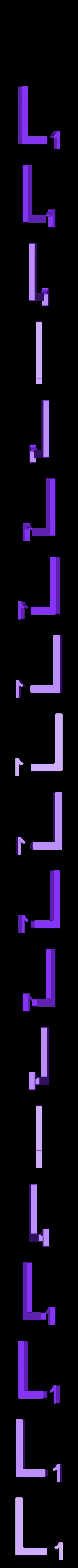 Dual_Letter_L.STL Télécharger fichier STL gratuit Pièces et support SCRABBBLE • Design pour imprimante 3D, Balkhagal4D