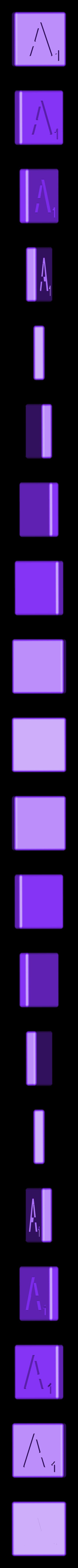 Dual_Shell_A.STL Télécharger fichier STL gratuit Pièces et support SCRABBBLE • Design pour imprimante 3D, Balkhagal4D