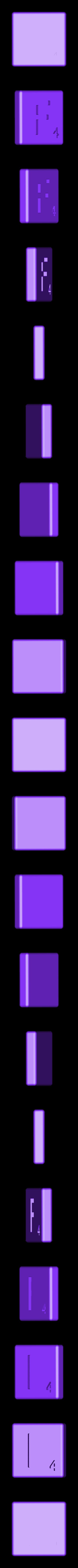 Dual_Shell_F.STL Télécharger fichier STL gratuit Pièces et support SCRABBBLE • Design pour imprimante 3D, Balkhagal4D